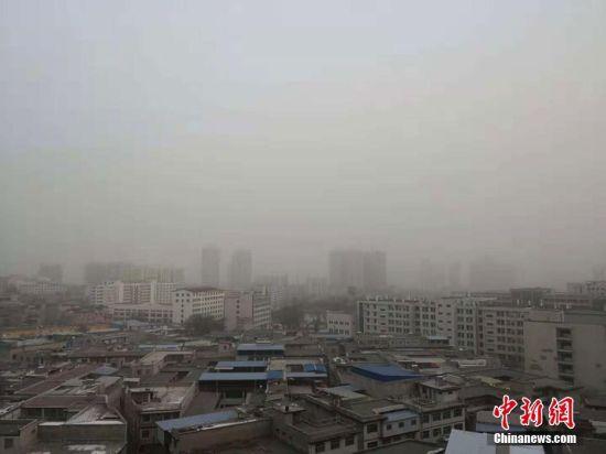 甘肃多地仍污染严重 河西地区成风沙袭击重点区域