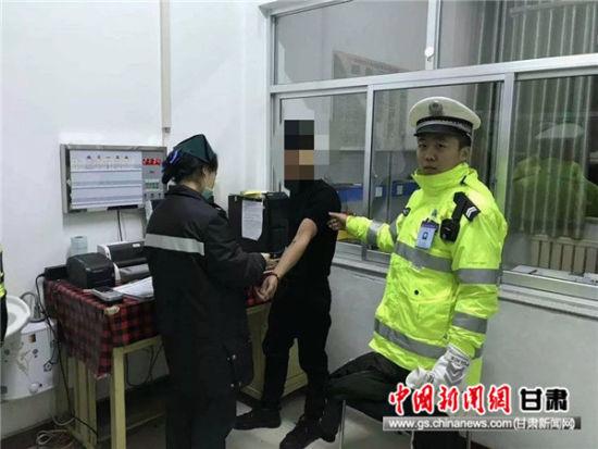 呼气式检测值203mg100ml 陇南一醉酒司机被依法查获