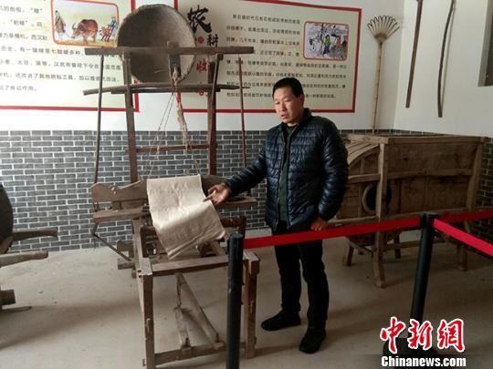 甘肃甘谷村民建博物馆:逾5千