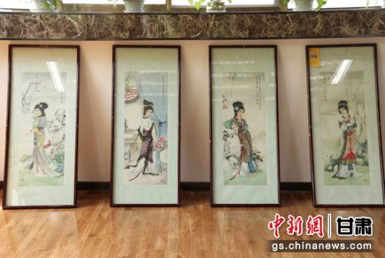兰州展126件中国书画 经典之作携陇上精品献文化盛宴